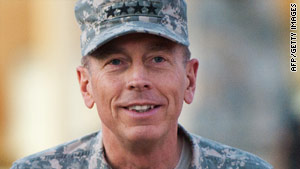 Gen. David Petraeus has spent a month on the job as commander in Afghanistan.