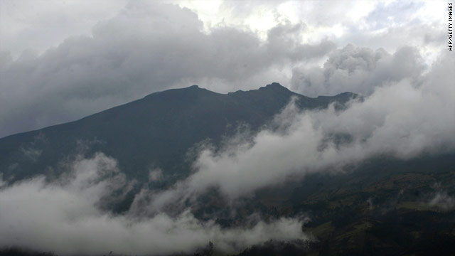 Colombian officials have urged about 7,000 people to evacuate the area around the Galeras volcano.