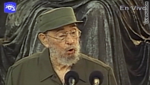 "Fidel Castro said it is his ""undeniable duty"" to keep leading the fight and warn that a nuclear war could break out."