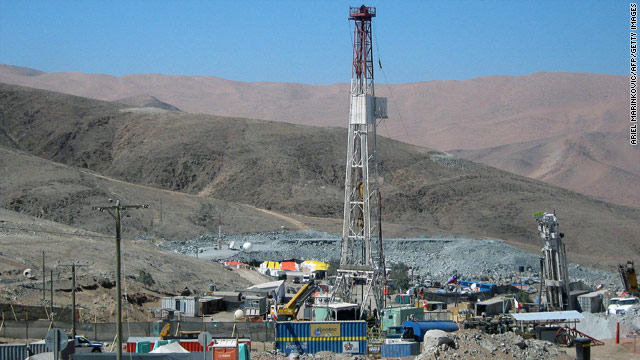 The RIG-421 drill, known as the Plan C drill, began operations Sunday. Officials hope it will reach the trapped miners faster.