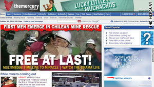 How media is reporting Chile mine rescue
