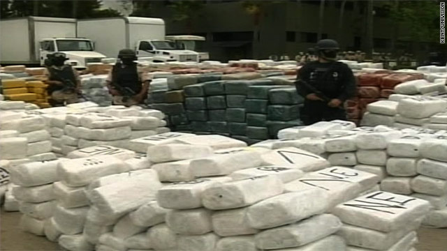 105 tons of marijuana seized in Mexico