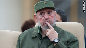 Fidel Castro -- pictured in Havana during September -- has commented for the first time on domestic politics.
