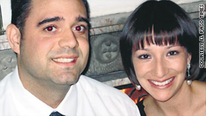 Lesley Enriquez and her husband, Arthur Redelfs, were killed while leaving a birthday party.