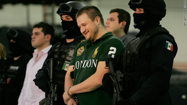 """The process of extradition has begun"" against Edgar Valdez Villarreal (shown after his arrest in August), a spokesman said."