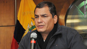 In September, President Rafael Correa of Ecuador was briefly taken hostage by police officers upset about their pay.