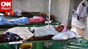 The cholera outbreak has killed more than 2,000 people and sickened nearly 100,000 in Haiti.