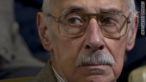 Jorge Rafael Videla on trial in Cordoba, Argentina, on July 22, 2010.