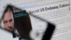 U.S. embassy cables obtained by WikiLeaks are being published on a website run by the Cuban government.