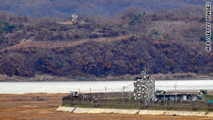 The DMZ between North, left, and South Korea remains one of the world's most militarized.