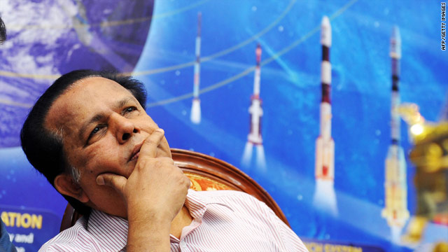 Indian Space Research Organisation (ISRO) chairman Madhavan Nair.