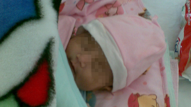 """Baby Hope"" at Beijing United Family Hospital."