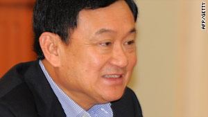 Thaksin Shinawatra has continued to play a role in Thai politics, even from outside the country.