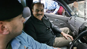 A file photo of Retired General Hamid Gul in Islamabad dated November 4, 2007.