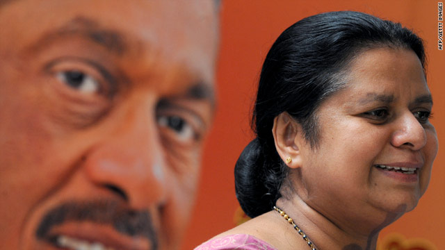 Gen. Sarath Fonseka's wife, Anoma, called the legal proceedings against her husband a joke.