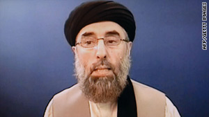 Afghan militant Gulbuddin Hekmatyar has previously expressed support for al Qaeda.