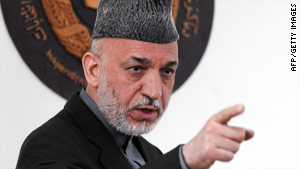 Afghan President Hamid Karzai says a planned military push won't happen until tribal leaders approve it.