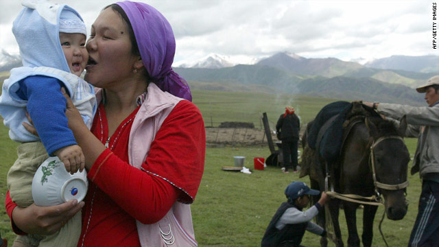 "The CIA Factbook described Kyrgyzstan as a land of ""incredible natural beauty and proud nomadic traditions."""