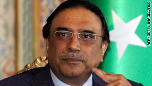 President Asif Ali Zardari may enjoy a boost in popularity among Pakistan's political elite for backing the measure.