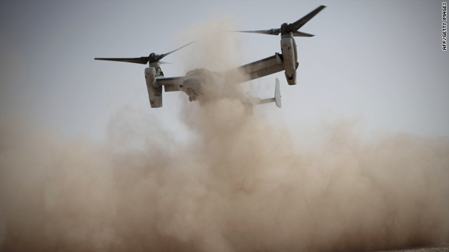 The CV-22 Osprey -- the aircraft that crashed -- is used to for long-range infiltration and resupply operations for the U.S. military.