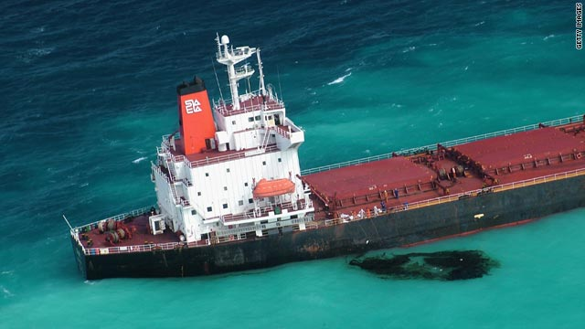 The Shen Neng 1 was more than 27 kilometers off course.