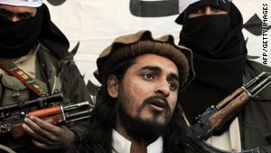 Hakimullah Mehsud is shown in a November 2008 photograph.