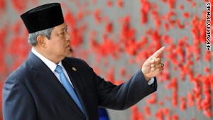 Indonesian President Susilo Bambang Yudhoyono is alleged to be the target of an assassination plot.