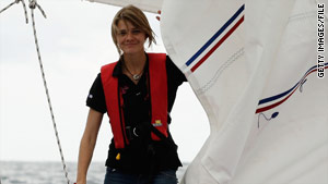 Jessica Watson was due to finish her solo round-the-globe voyage on Saturday, days before her 17th birthday.