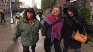 From left, Cindy Hickey, Nora Shourd and Laura Fattal have bonded in their mission to free their children.