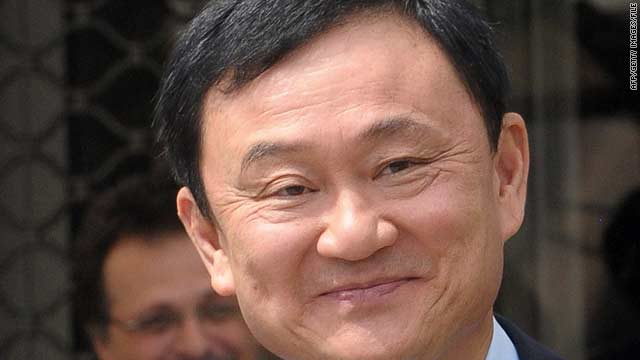 Former Thai Prime Minister Thaksin Shinawatra called on the government to pull back troops and restart negotiations.