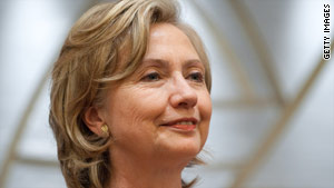 "Secretary of State Hillary Clinton seeks a ""level playing field"" when it comes to China trade."