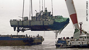 Forty-six sailors died when the South Korean vessel sank on March 26.