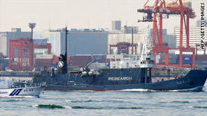 Japanese officials insist that the country's whale hunting is authorized.