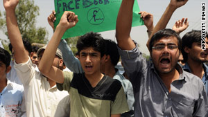 "Last month, ""Everybody Draw Muhammed Day"" drew protests from students in Lahore."