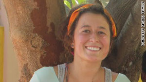 Aubrey Sacco was last seen at a hotel in Nepal's Langtang National Park on April 22.
