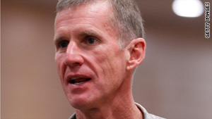 American casualties in Afghanistan are likely to increase, Gen. Stanley McChrystal said Thursday.