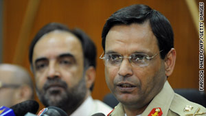 Maj. Gen. Athar Abbas has rejected allegations that Pakistan's intelligence agency has ties to the Taliban