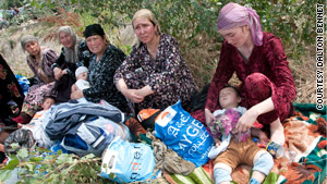Uzbekistan has been providing assistance and shelter to an estimated 100,000 people from Kyrgyzstan.