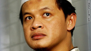 Photo taken on December 29, 2005, shows suspected Indonesian terrorist Abdullah Sonata.