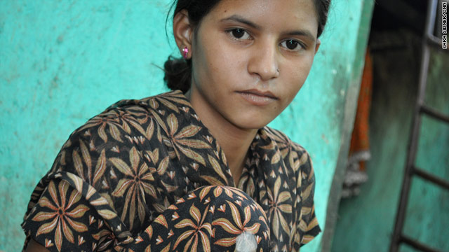 Chanda, who lives in a New Delhi slum, said caste is important in her neighborhood.