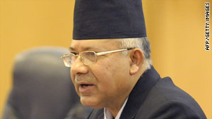 Madhav Kumar became prime minister of Nepal after Pushpa Kamal Dahal quit last year.