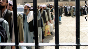 Briton William Shaw was serving a two-year sentence in Kabul's infamous Pul-e-Charki jail.