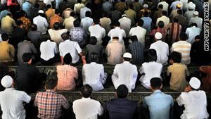 The Indonesian Ulema Council told the country's Muslim populace in March to turn west.