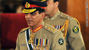 Gen. Ashfaq Pervez Kayani took over as army chief in 2007, after the retirement of Gen. Pervez Musharraf.