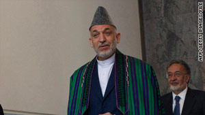 Afghan President Hamid Karzai's office said Friday's attack killed civilians in Sangin district's Rigi village.