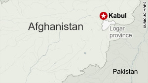 Two U.S. service members were abducted Friday in Afghanistan's Logar province.