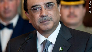 Pakistan President Asif Ali Zardari is heading to the U.K. despite tensions between the two countries.