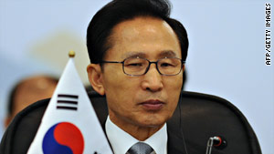 Lee Myung-bak's Grand National Party has struggled in recent elections.