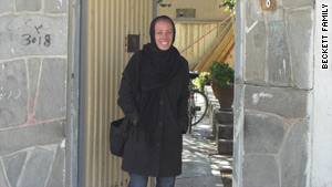 Cheryl Beckett had been working in Afghanistan since 2005 with a focus on nutritional gardening and mother-child health.