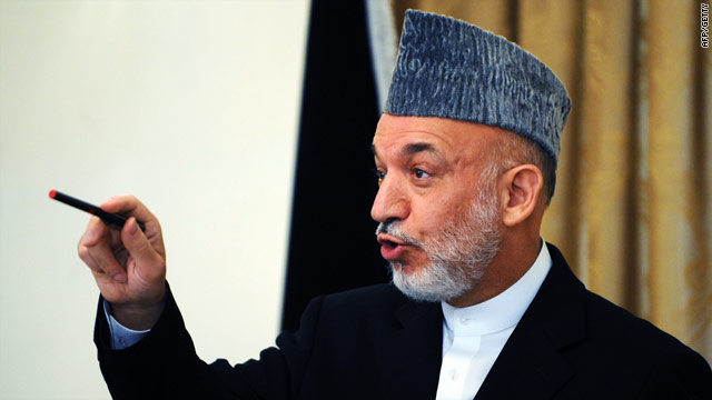 Afghan president Hamid Karzai, seen here in July, is expected to issue an order related to private security companies Tuesday.